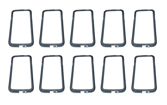 Lote 10 Bumpers Preta Samsung Galaxy S4