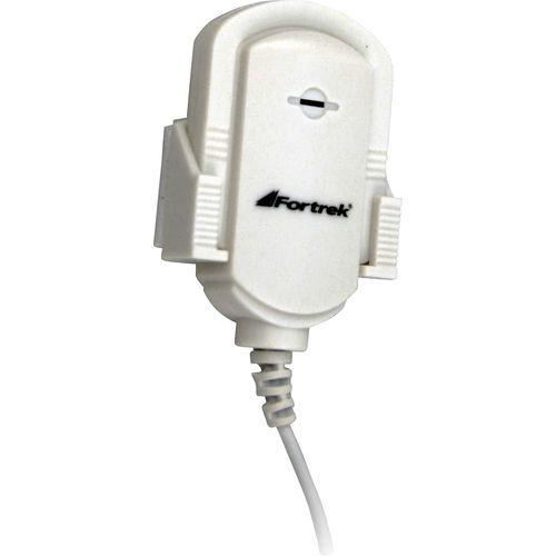 Microfone Multimídia c/Clip MIC101 Branco FORTREK