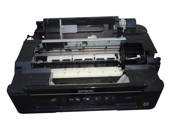 Carcaça Base C/ Mecânismo Completo Impressora Epson L355 Semi Nova