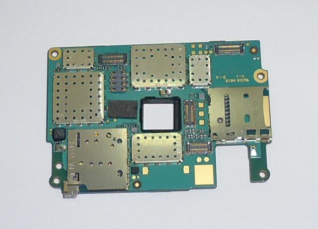 Placa Lógica Nokia Lumia 720 com defeito não reconhece chip
