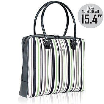 Bolsa Feminina P/ Notebook  PVC AUBA-0004 -VD