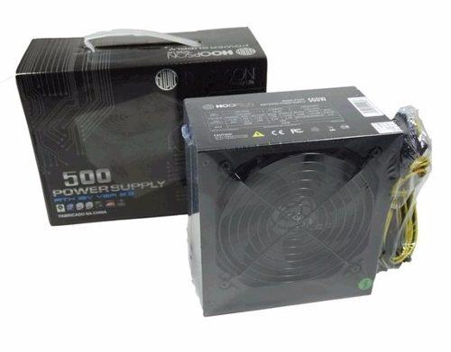 Fonte de Alimentação Desktop FNT-500W Hoopson 500W reais