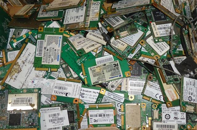 Lote C/ 150 Plaquinhas Wifi Fax Modem P/ Notebook Diversos Modelos