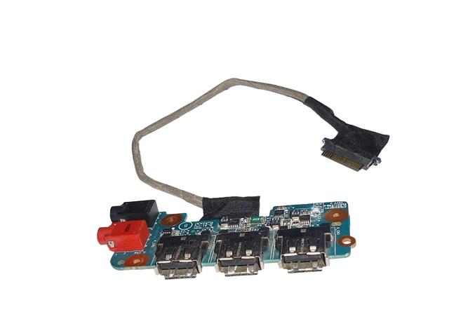 Placa Conecor USB e Audio Notebook Sony Vaio PCG3B1L  M760