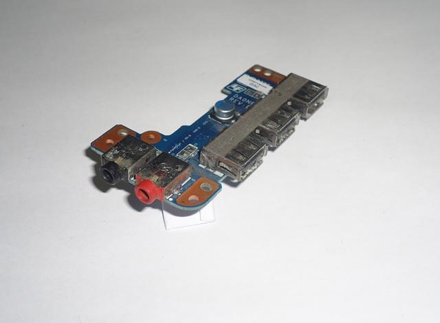 Placa Conector USB e Áudio Notebook Sony VPCEE2M1E  DA0NE7TB6D0