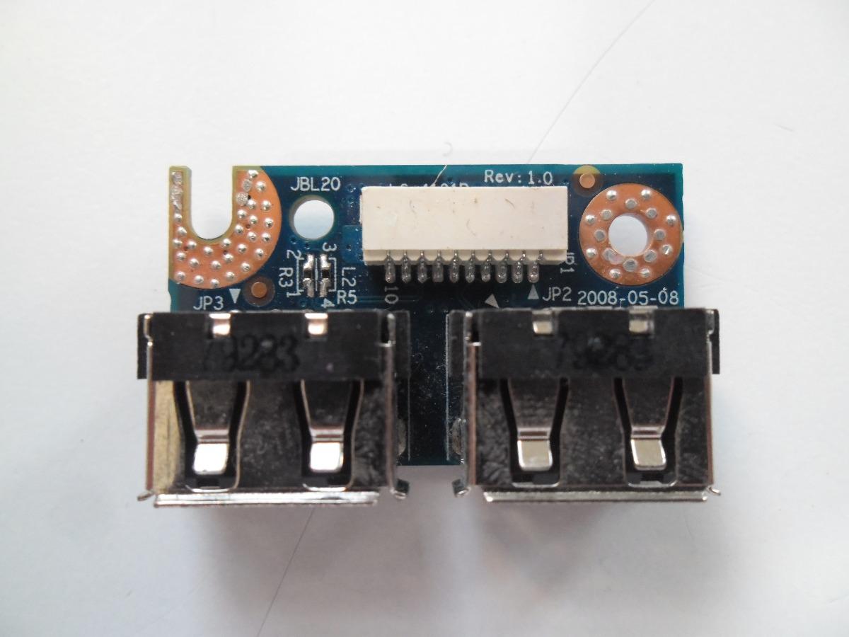 Placa USB HP Pavilion DV4 JBL20 LS-4101P