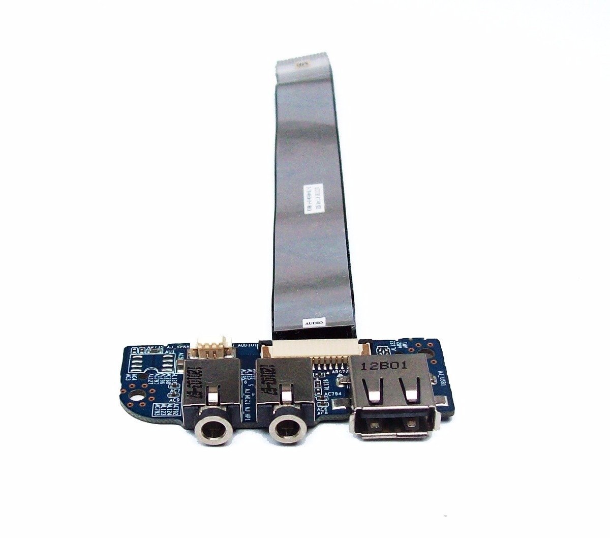 Placa USB e Áudio Notebook Itautec 6-71-w2408-d03 W240BU