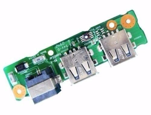 Placa USB e RJ11 Notebook Intelbras I534 35GES2000-C0