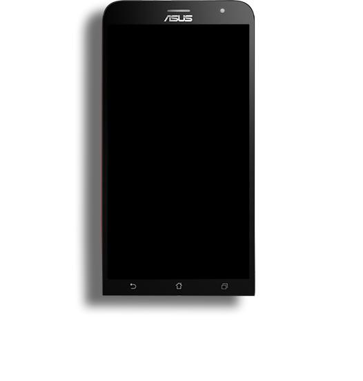 Tela Touch Display Modulo Asus ZenFone 2 Trincada funcionando