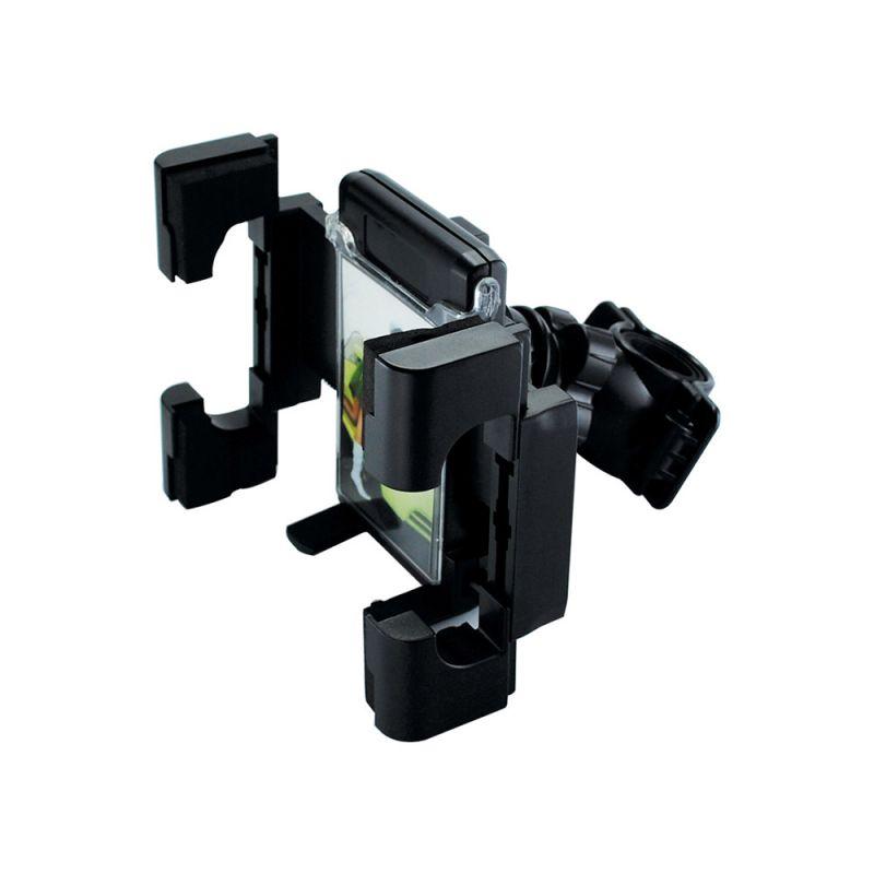Suporte Portatil p/ Moto e Bicicleta GPS Celular Palm XC-S-GPS-3 Preto