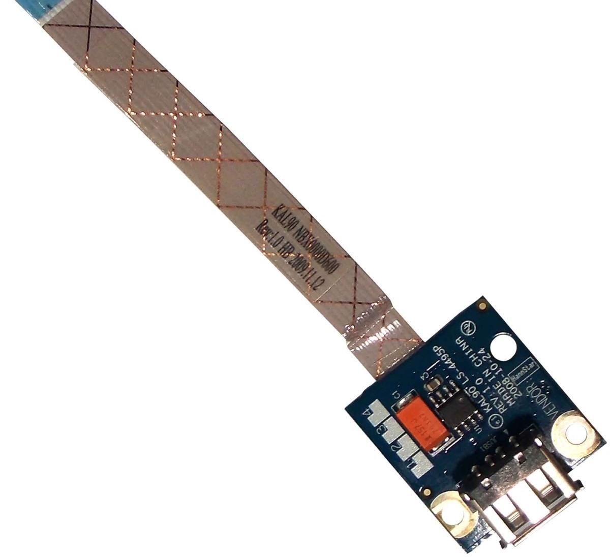 Placa USB Notebook Acer Aspire 4540