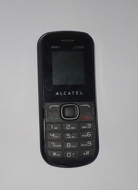 Celular Alcatel 236G Preto Seminovo sem Bateria