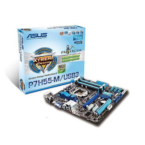 PLACA MÃE P7H55-M/USB3 SATA6