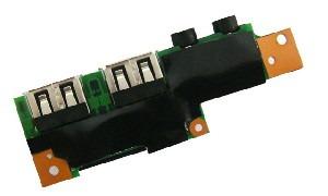Placa Conector USB e Áudio A14IM02  Notebook Positivo Sim 1060m