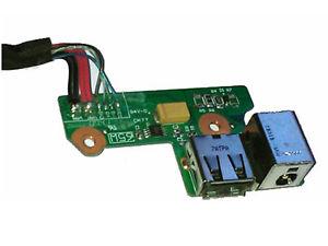 Placa Conector de Carga e USB HP Pavilion DV6000