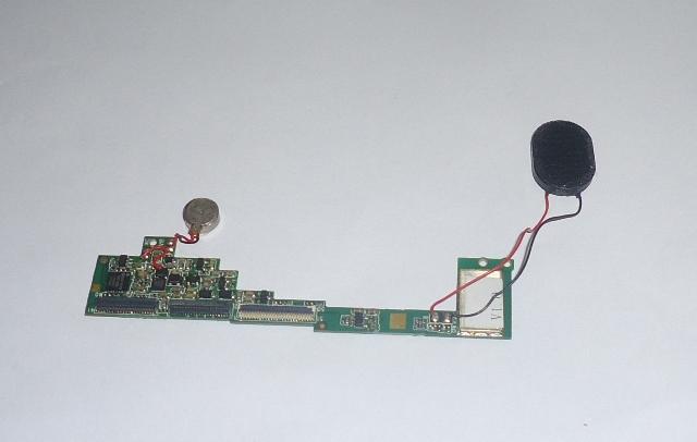 Placa Central Conector Alto Falante e Vibracall Tablet Genesis GT-7327