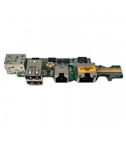 Placa Conector USB RJ11 RJ45 Dell Latitude D520