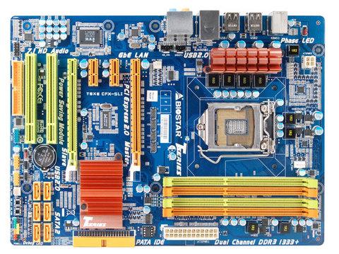 Placa MÃe Biostar P55 S1156 Ddr3 Intel T5xecfx-sli