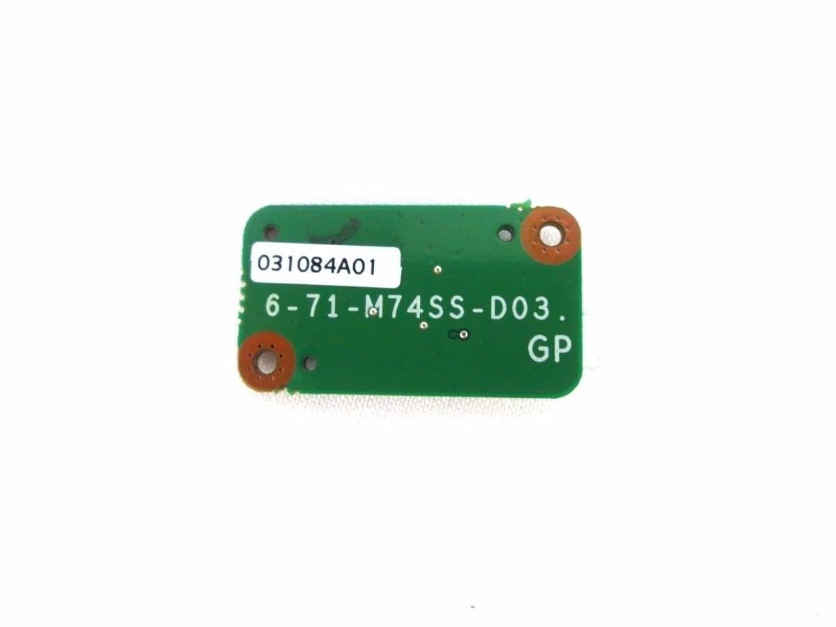 Placa Botão Power 6-71-M74SS-D03 Notebook Positivo Sim 1472