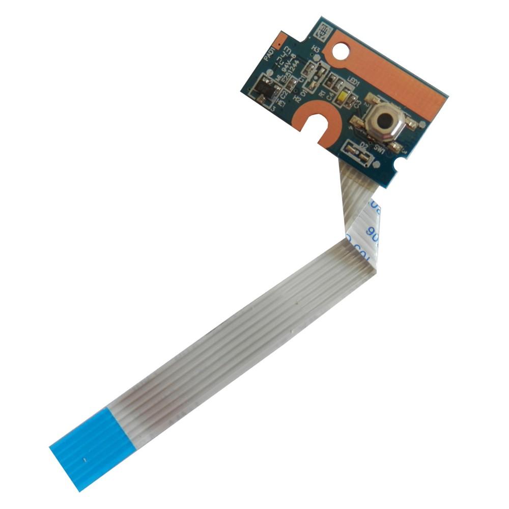 Placa Conector Botão Power DA0AX1PB6E0 Notebook HP Pavilion G42