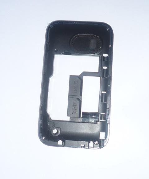 Carcaça Chassi Celular Blu Hero II S190i Preta
