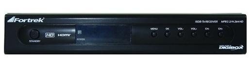 Conversor Digital HDTV Full HD DG306-Tb Fortrek Digibox