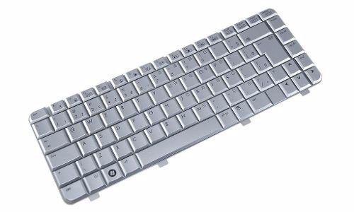 Teclado Notebook HP DV4 1120br Prata