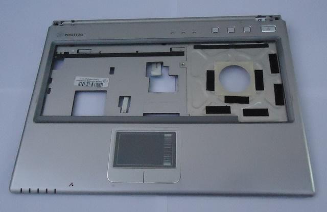 Carcaça Superior C/ Touchpad M540SS Prata Notebook Positivo Mobile Semi Nova