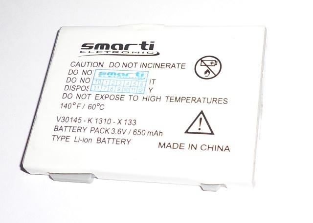 Bateria Semi Nova Smarti 3.6v 650mAh Siemens C65