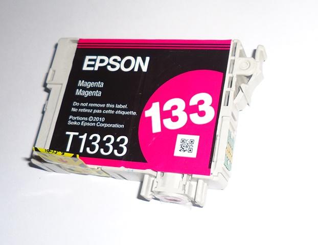 Cartucho Magenta Impressora Epson 133 Magenta original Sem Embalagem