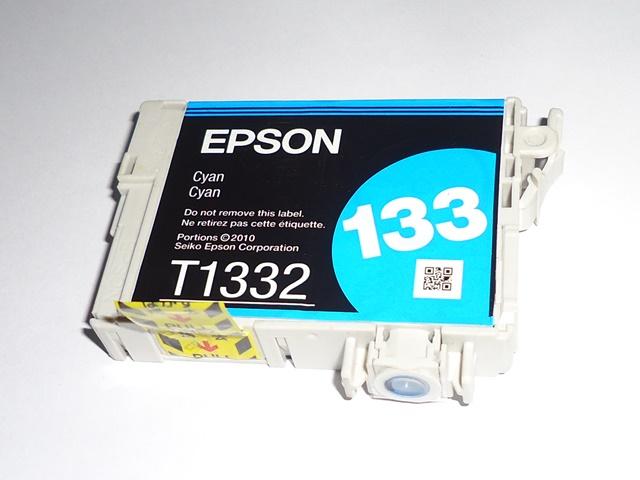 Cartucho Ciano Impressora Epson 133 Ciano Original Sem Embalagem