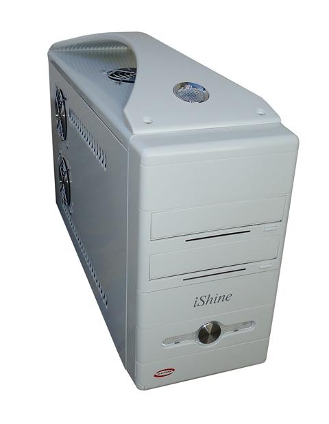 Mini Gabinete Flex ATX Ql-01 I-Shine Vcom Branco