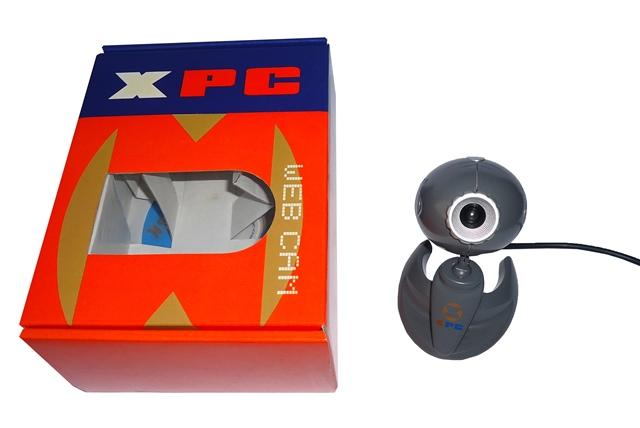 Webcam XPC Cinza USB 380K Leadership