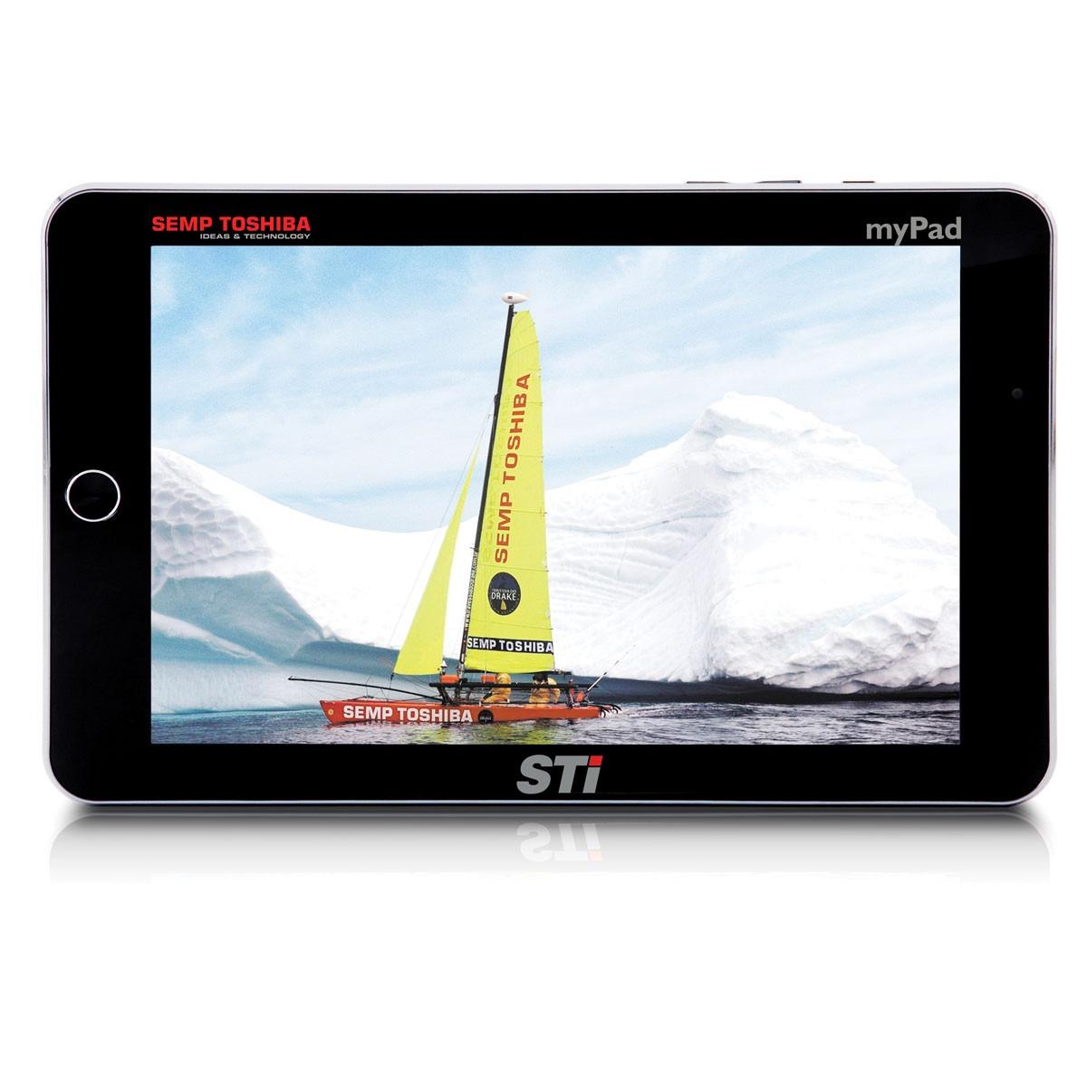 Tablet STI MyPad TA 1013G Android 3.0 8GB Wi-Fi Seminovo Preto C/ Cinza