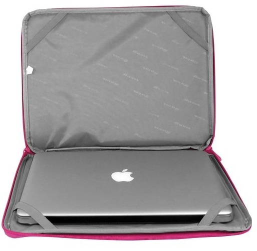 Luva para Notebook Laptop Sleeve Rosa 15.4´