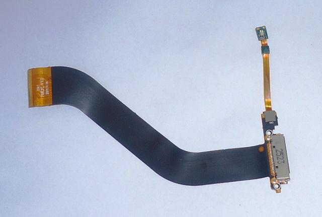 Cabo Flat Conector de Carga Semp Toshiba STi  MyPad 5 TA-1033G - Retirado