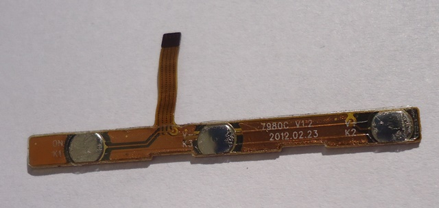 Placa Conector Botões Tablet Semp Toshiba STi MyPad 5 TA-1033G