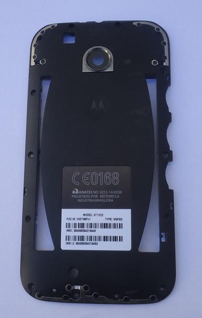 Carcaça Chassi Motorola Moto E XT-1022  Semi Nova Preta