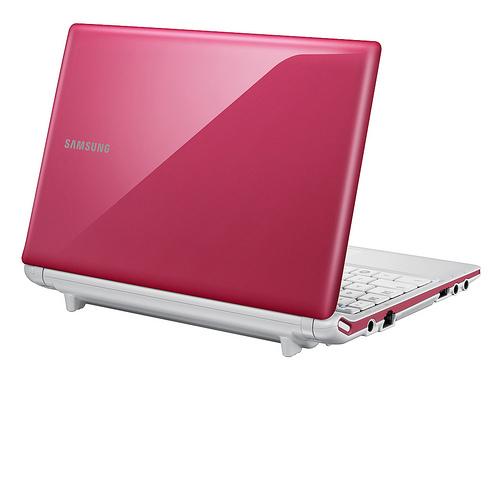 Netbook Samsung N150P - Rosa N455/250GB/1GB/CAM/WIN7