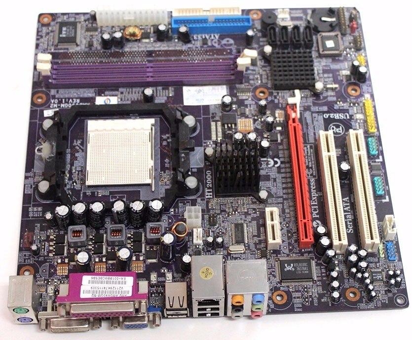 Placa Mãe AMD690GM-M2 AM2 DDR2 Semi Nova