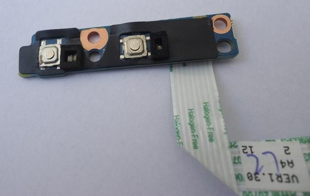Placa Conector Botões HP Probook 4530s