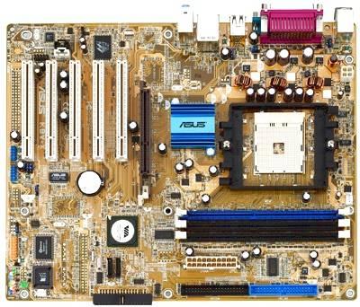 Placa Mãe Asus K8V-X ATX Socket 754 Off- Board Semi  Nova