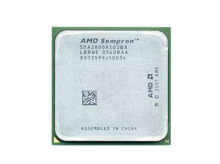 Processador AMD Sempron 2500 64 Bits 1.40Ghz Socket 754 LBBWE SDA2500AI03BX (Semi Novo)