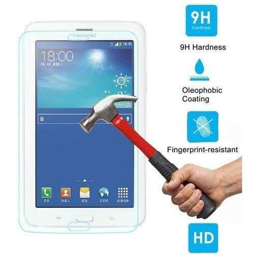 Película Vidro Temperado p/ Tablet Samsung Galaxy Tab 3 T110 T111 T113 T116 7 Polegadas