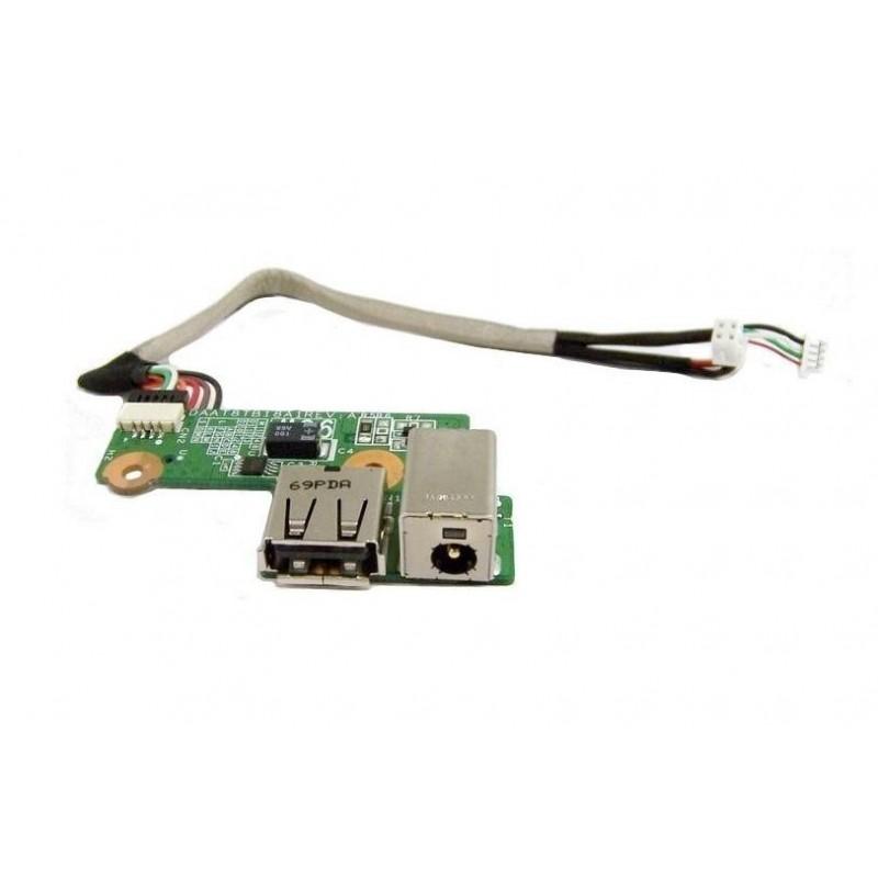 Placa Conector de Carga e USB Notebook HP Pavilion DV6000