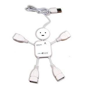 Hub USB Boy Branco 9165 Comtac