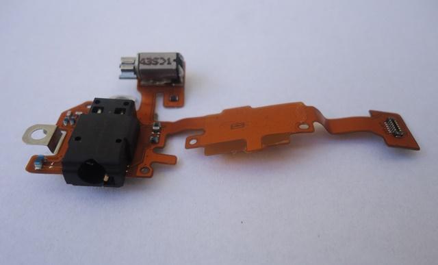 Placa Conector Vibracall e Conector Fone Nokia Lumia 630