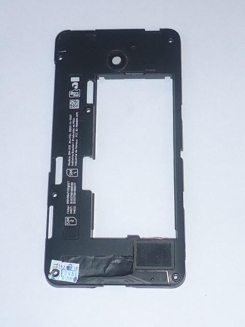 Carcaça Chassi Nokia Lumia 630 Preta Semi Nova