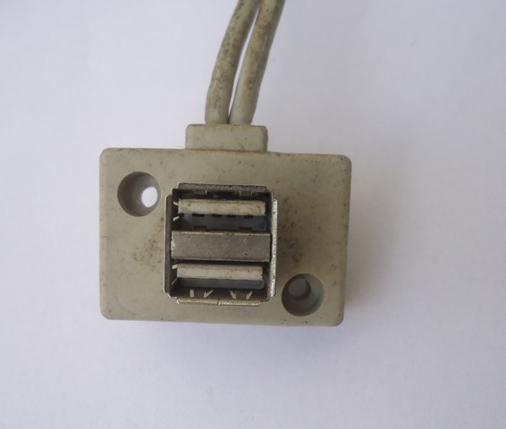 Painel Frontal 2 Portas USB P/ Gabinete