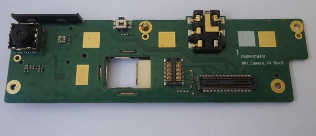 Placa Conector de Áudio P2 e Câmera Tablet Semp Toshiba STI MyPad TA 1013G